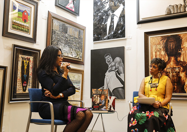 An Intimate Conversation with Authors Ilyasah Shabazz and Hermene Hartman