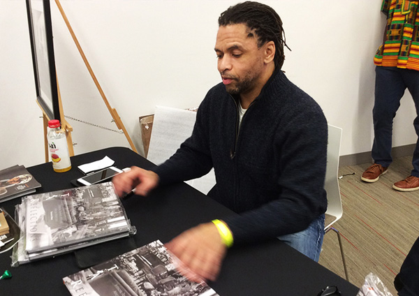 Artist Terrence Reese book signing
