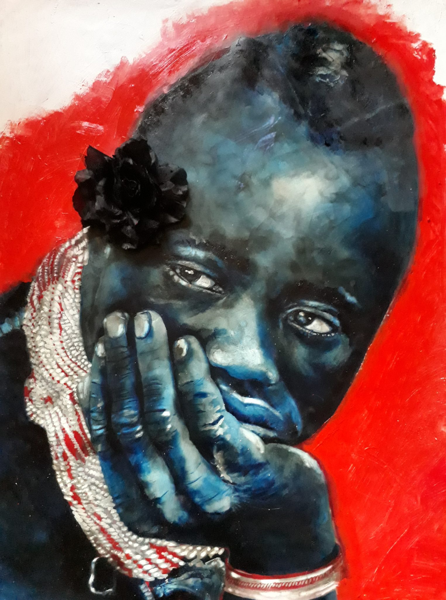 Blue Warrior by Lioda Conrad