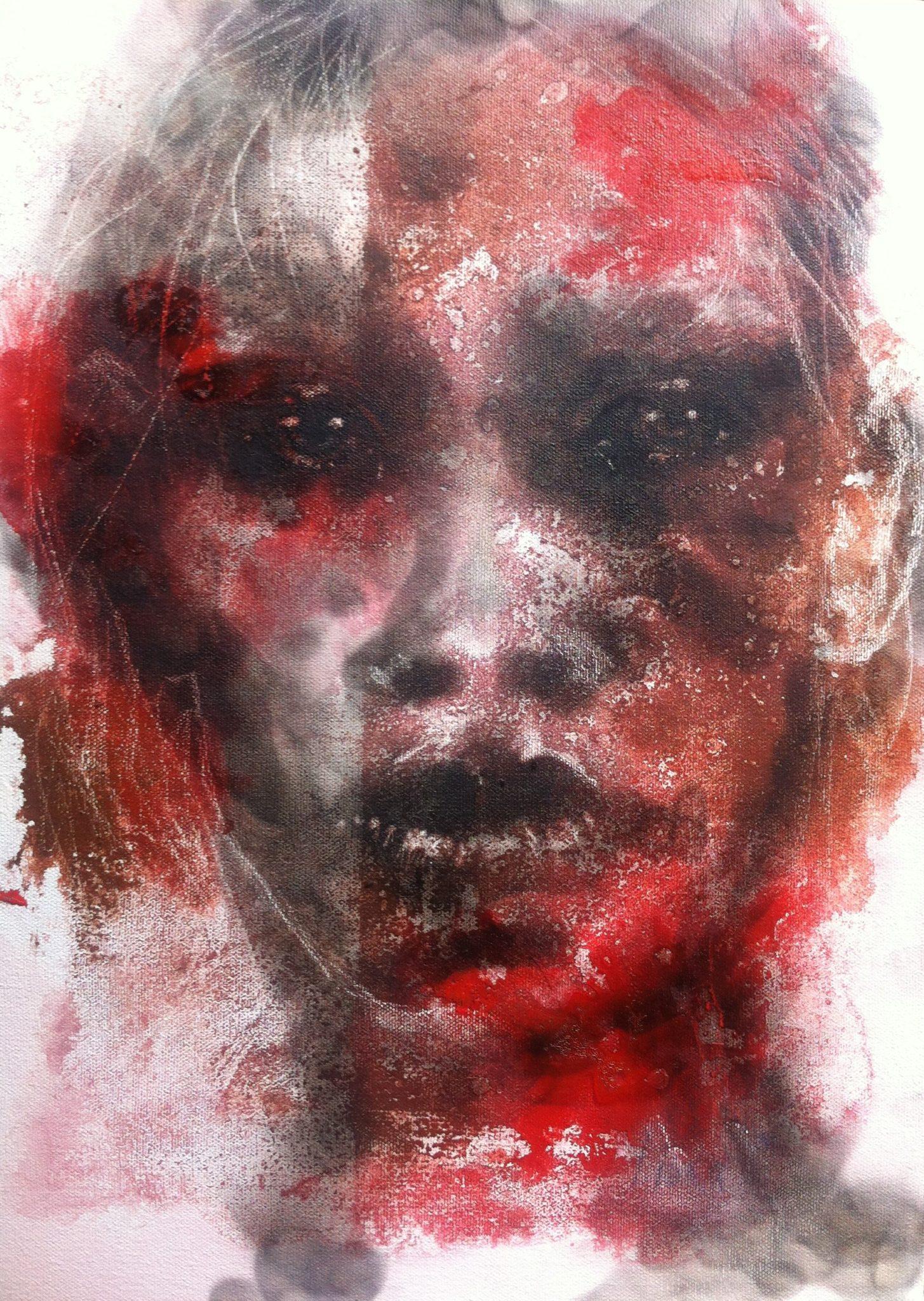 Red No 10 by Lioda Conrad