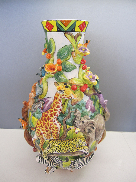Velile Vase - Rep: Nkosi Distinctive Imported Crafts, LLC