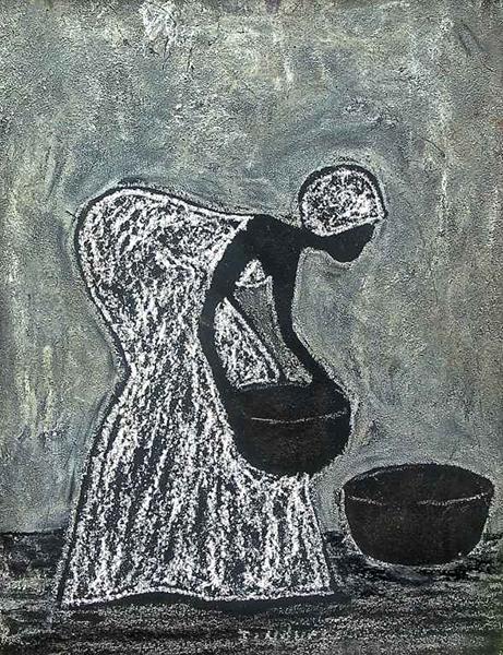 Start the Day by John Ndungu - Rep: TrueArfricanArt.com