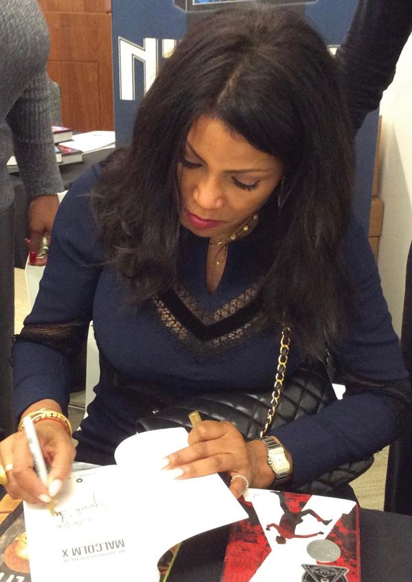 Ilyasah Shabazz book signing