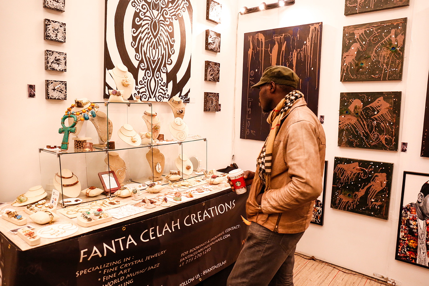 Fanta Celah Creations Exhibit