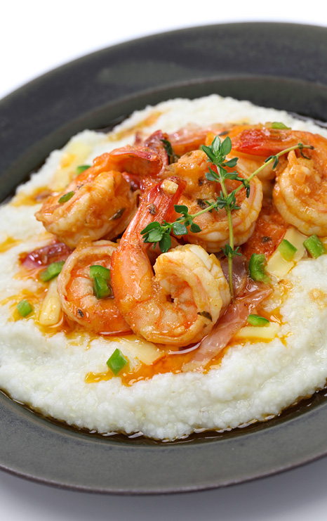 Sunday Brunch shrimp and grits